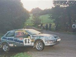 RAJD WRC 2005 ZDJĘCIE NUMER #013 HONDA CIVIC