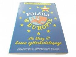 POLSKA W EUROPIE - J. Harasymowicz (2001)