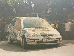 RAJD WRC 2005 ZDJĘCIE NUMER #024 HONDA CIVIC