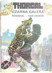 THORGAL. CZARNA GALERA - Rosiński, Van Hamme 1990