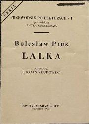 PRZEWODNIK PO LEKTURACH NR 1 LALKA - B. Prus 1990