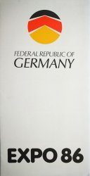 FEDERAL REPUBLIC OF GERMANY. EXPO 86
