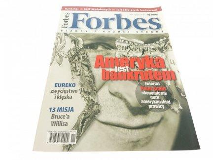 FORBES BIZNES Z KAŻDEJ STRONY 11/2009