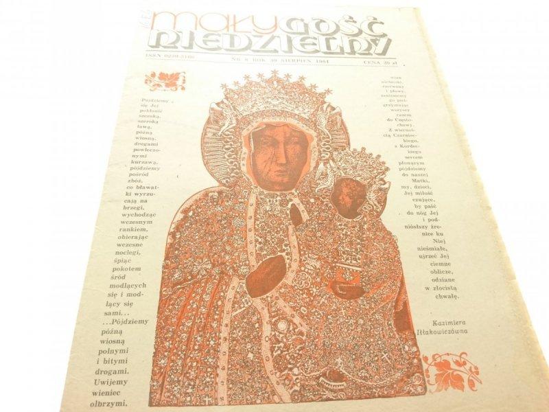 MAŁY GOŚĆ NIEDZIELNY NR 8 SIERPIEŃ 1984