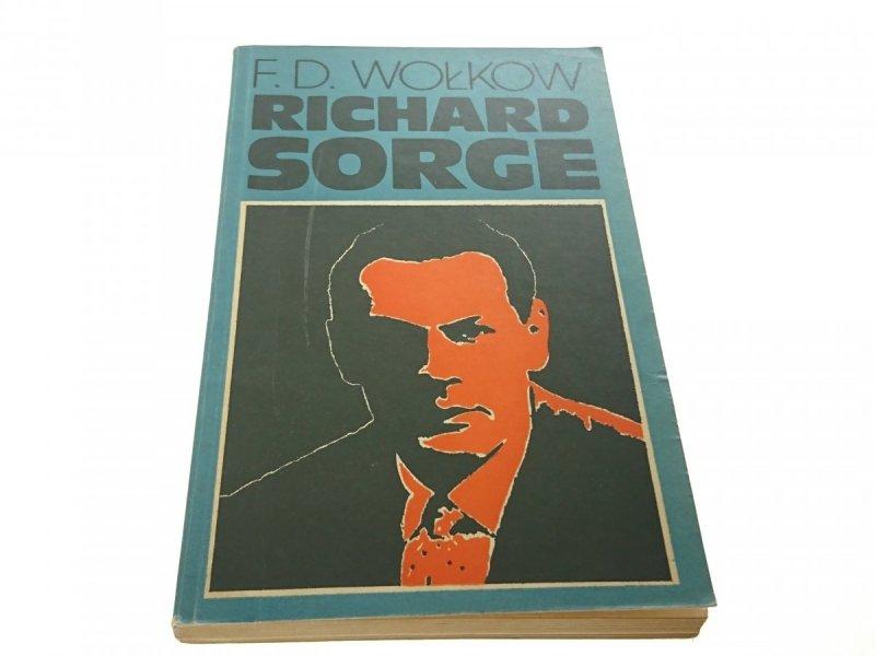 RICHARD SORGE - F. D. Wołkow 1976