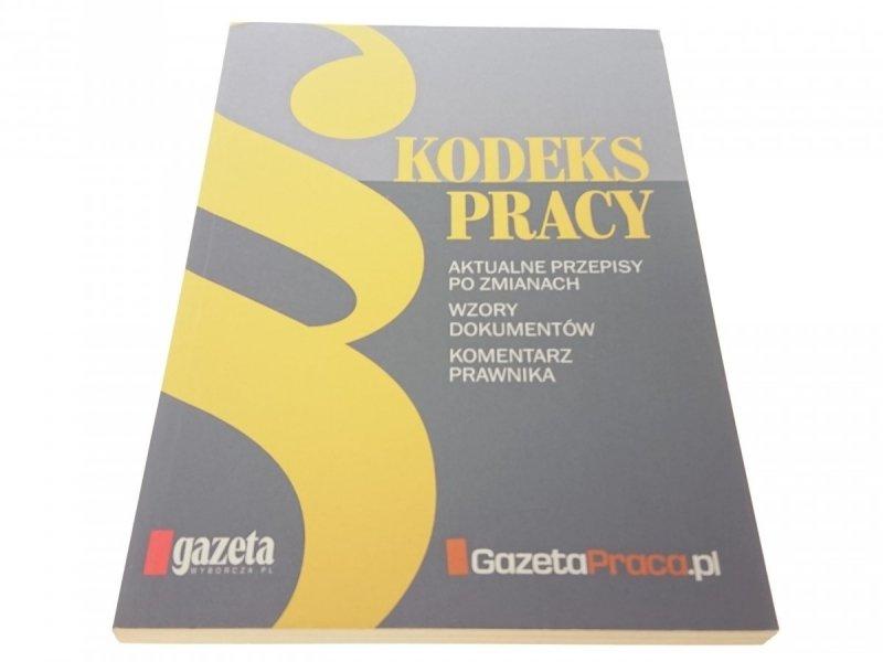 KODEKS PRACY - Małgorzata Kolińska-Dąbrowska 2012
