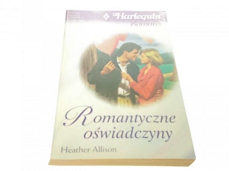 ROMANTYCZNE OŚWIADCZYNY - Heather Allison (2001)
