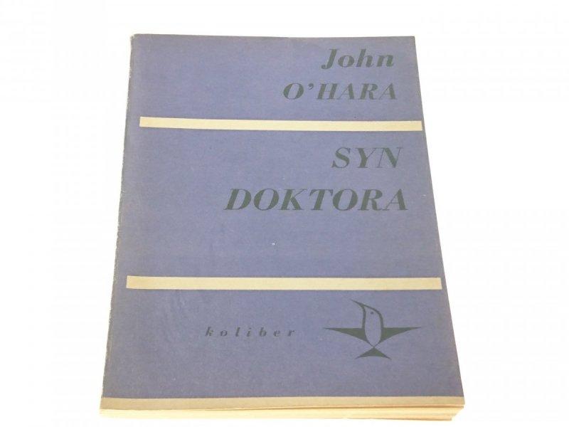 SYN DOKTORA - John O'hara 1970