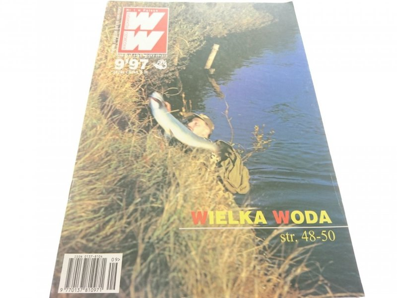 WIADOMOŚCI WĘDKARSKIE 9/97 - KARP Z KANAŁU
