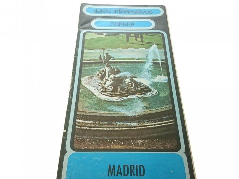 MADRID ESPAŃA - DATOS INFORMATIVOS
