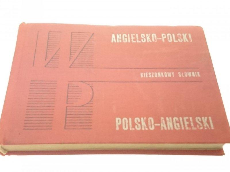 KIESZONKOWY SŁOWNIK ANG-POL; POL-ANG (1972)