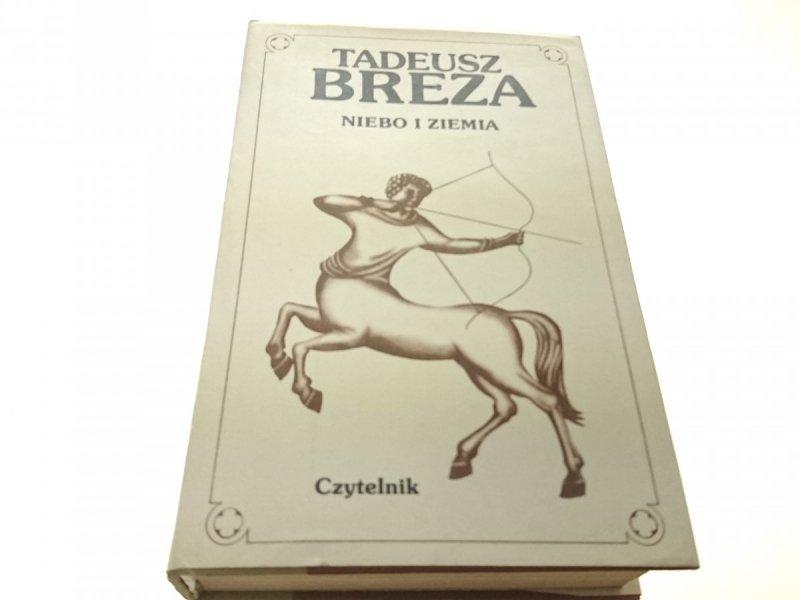 NIEBO I ZIEMIA - Tadeusz Breza (Wydanie IV 1980)