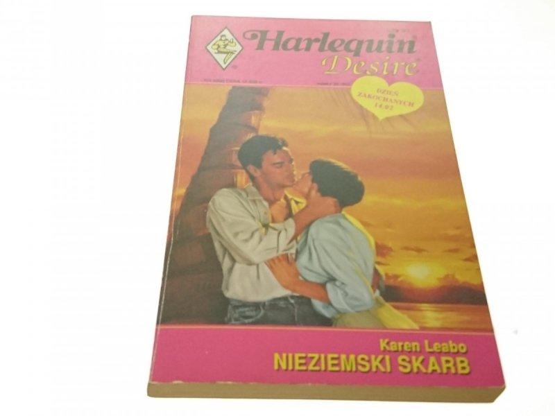 NIEZIEMSKI SKARB - Karen Leabo (1993)
