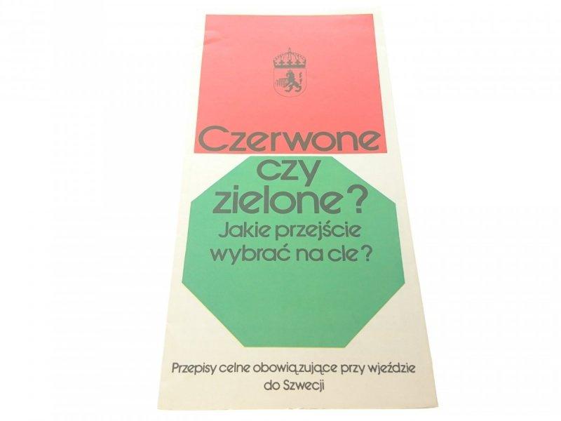 CZERWONE CZY ZIELONE? (1976)