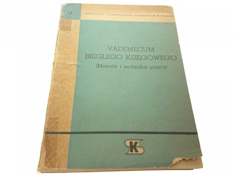 VADEMECUM BIEGŁEGO KSIĘGOWEGO 1962
