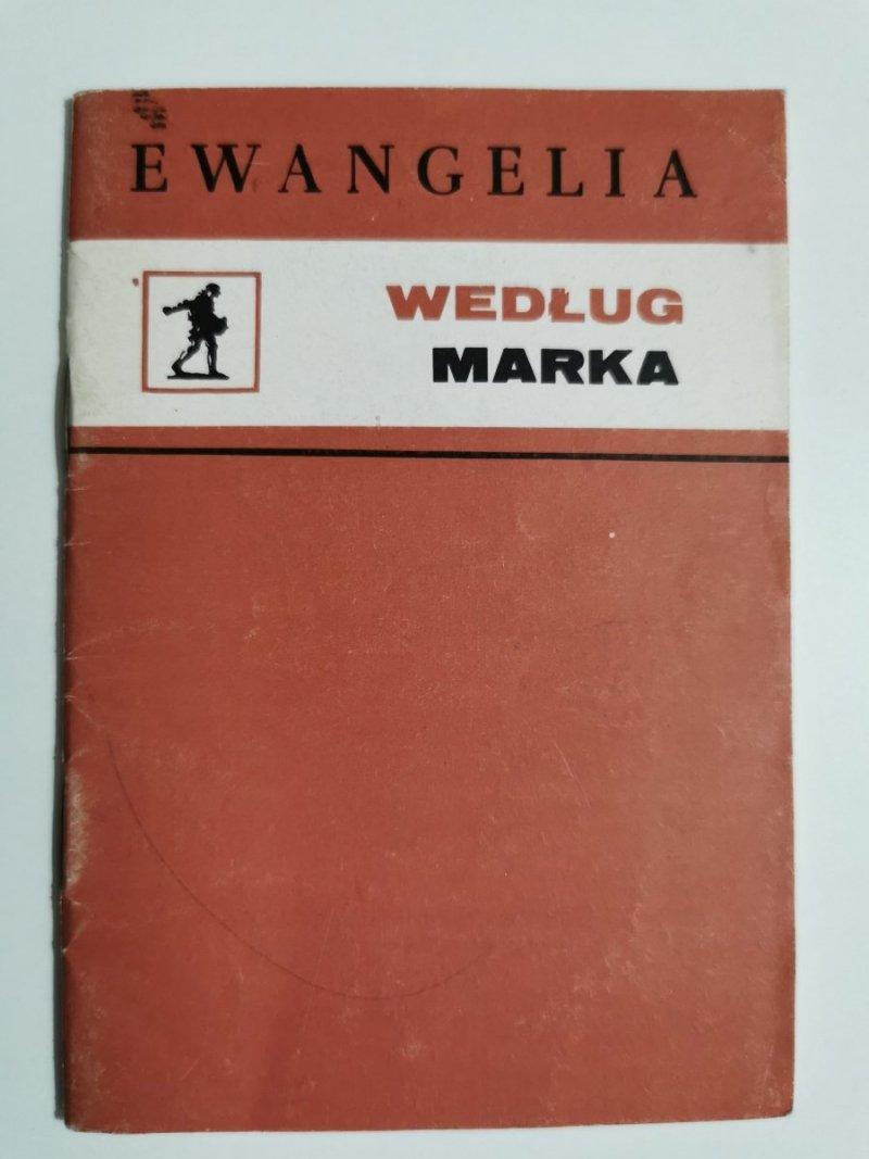 EWANGELIA WEDŁUG MARKA 1976