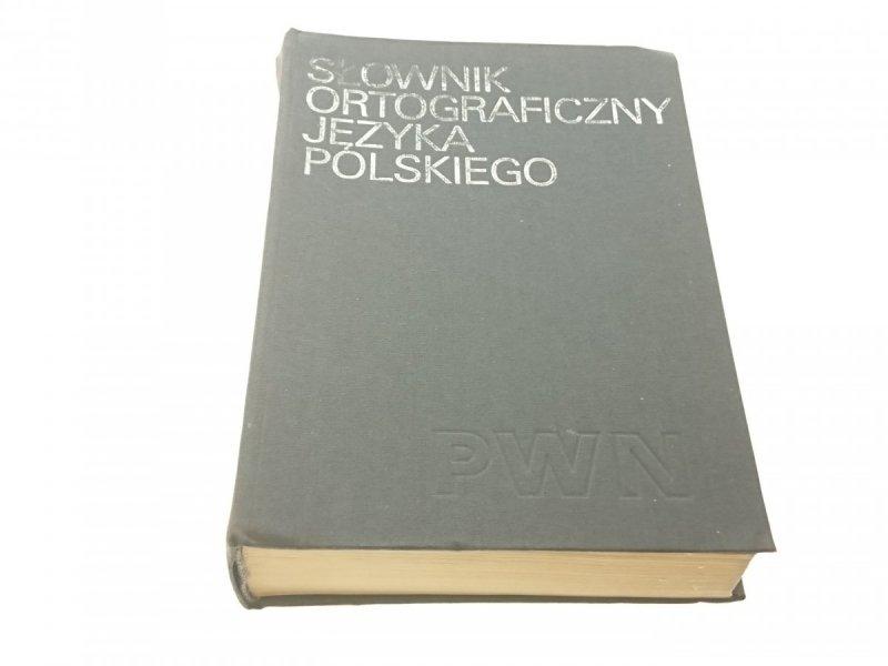 SŁOWNIK ORTOGRAFICZNY JĘZYKA POLSKIEGO 1986