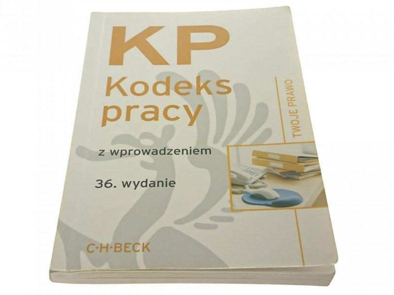 KP KODEKS PRACY Z WPROWADZENIEM (2011)