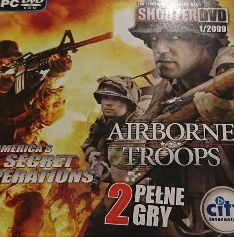 SHOOTER DVD 1/2009 AIRBORNE TROOPS; AMERICA'S