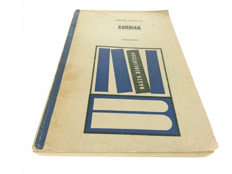 KORDIAN - Juliusz Słowacki (Wydanie IX 1969)