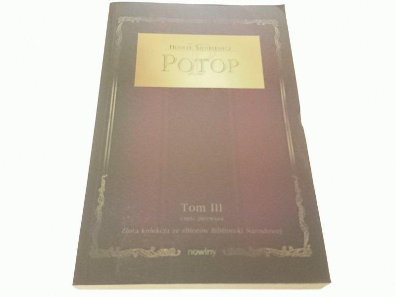 POTOP TOM III CZĘŚĆ PIERWSZA - Henryk Sienkiewicz