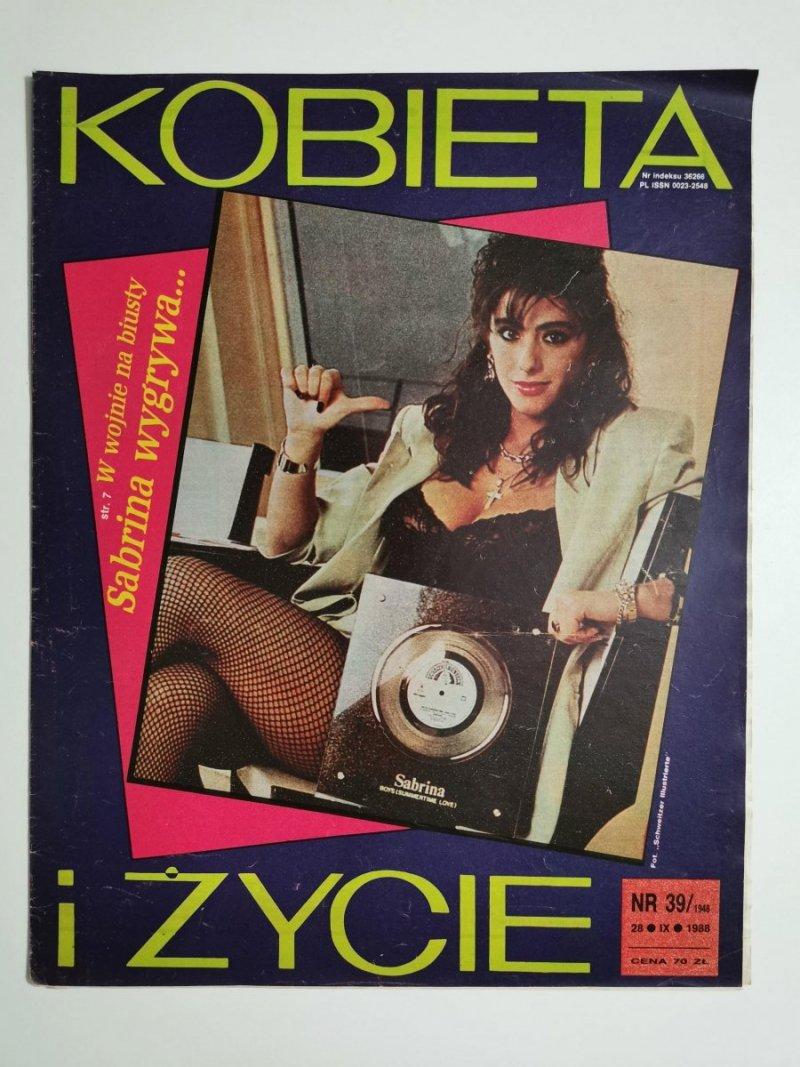 KOBIETA I ŻYCIE NR 39/1948 28 IX 1988