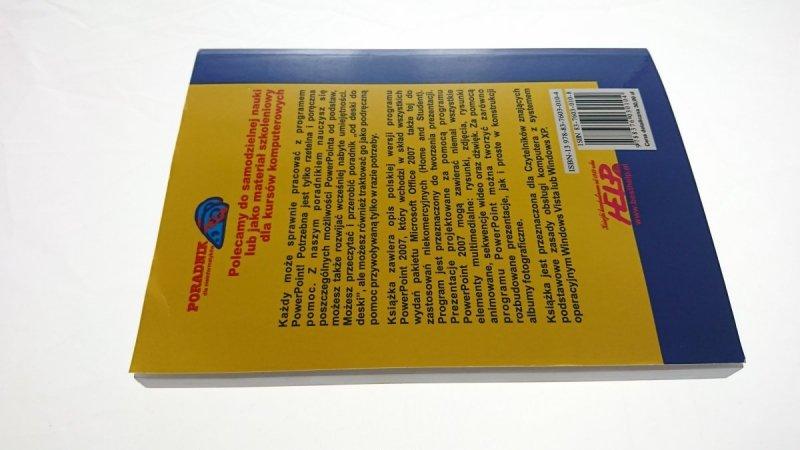 POWERPOINT 2007 PL PORADNIK DLA NIEINFORMATYKÓW