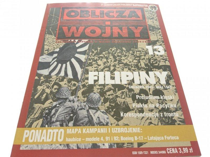 OBLICZA WOJNY 13 FILIPINY (1999)