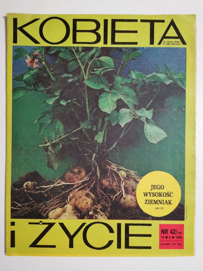 KOBIETA I ŻYCIE NR 42/1951 19 X 1988