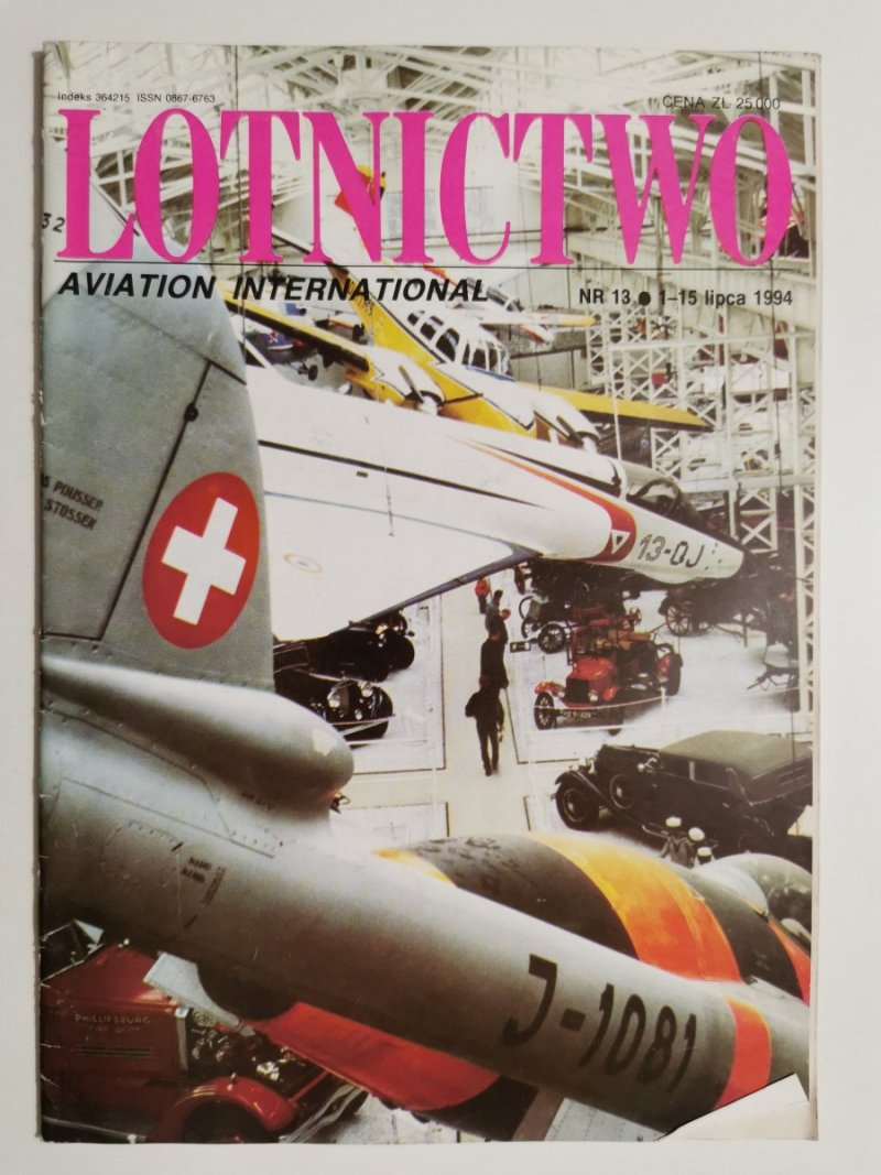 LOTNICTWO NR 13 1994
