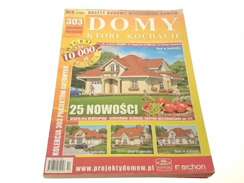 DOMY KTÓRE KOCHACIE NR 9 2/2005 JESIEŃ 2005