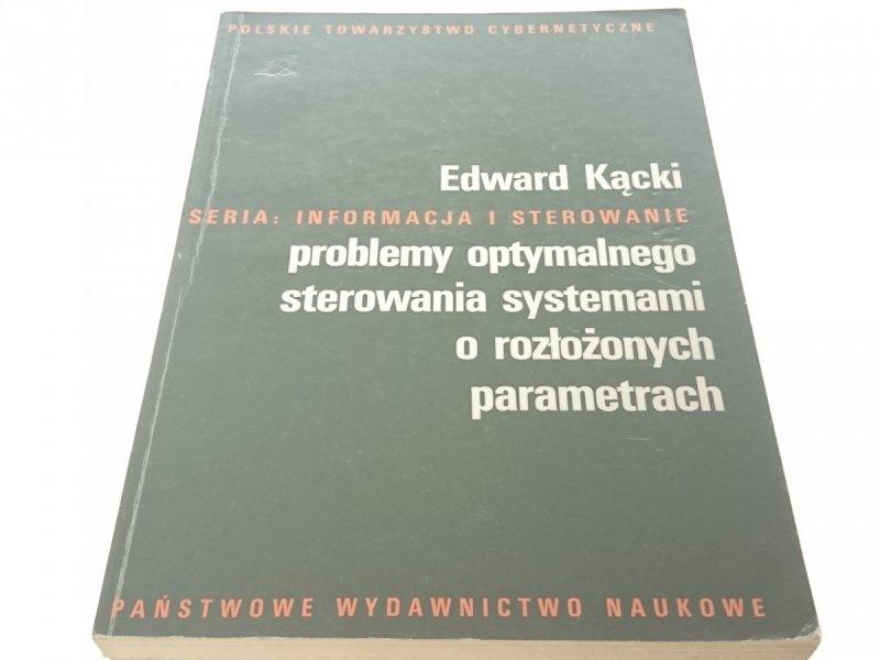 PROBLEMY OPTYMALNEGO STEROWANIA SYSTEMAMI