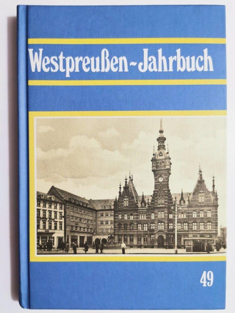 WESTPREUSSEN-JAHRBUCH BAND 49 Hans-Jurgen Schuch 1998