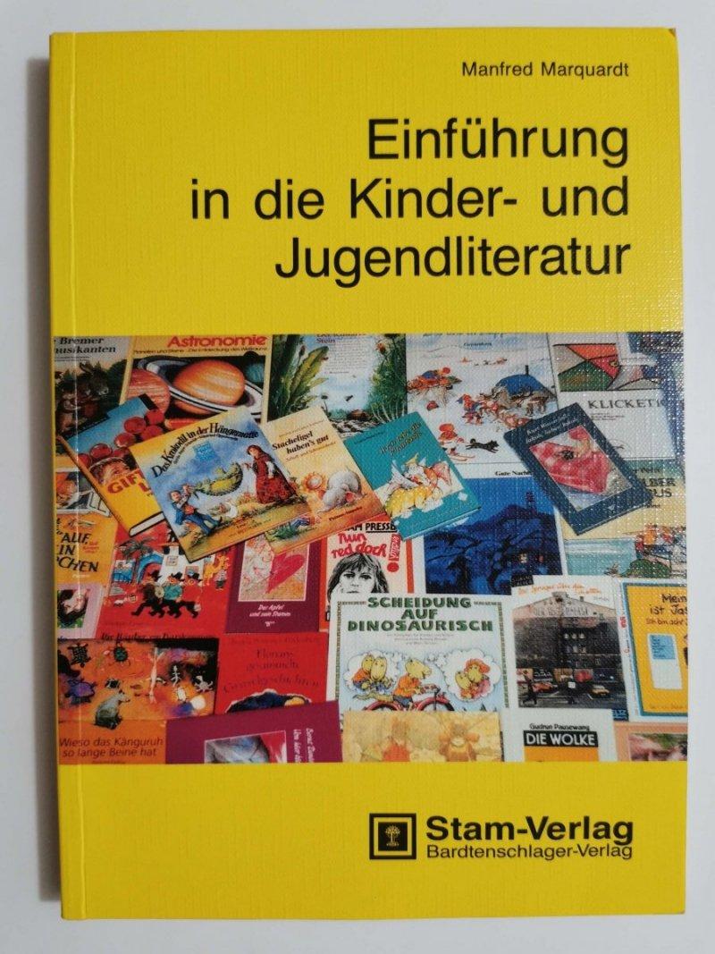 EINFUHRUNG IN DIE KINDER UND JUGENDLITERATUR - Manfred Marquardt 1991