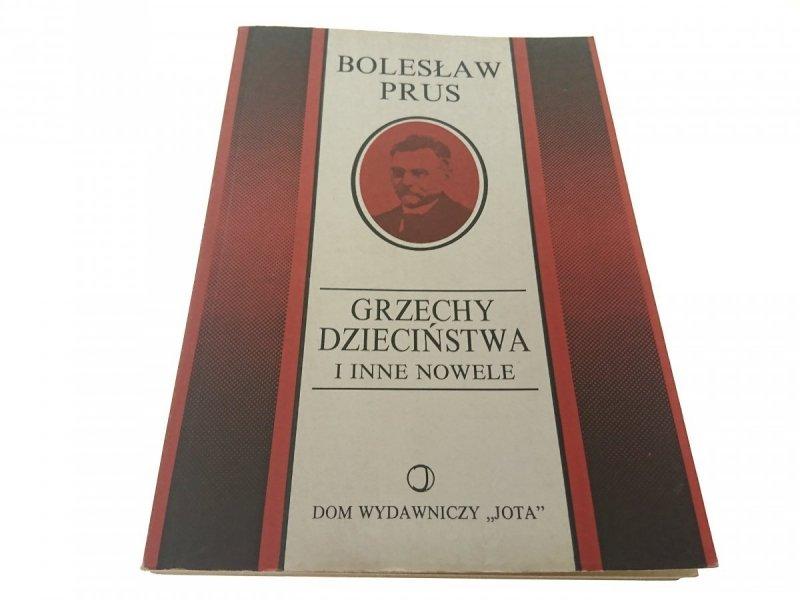GRZECHY DZIECIŃSTWA - Bolesław Prus (1991)