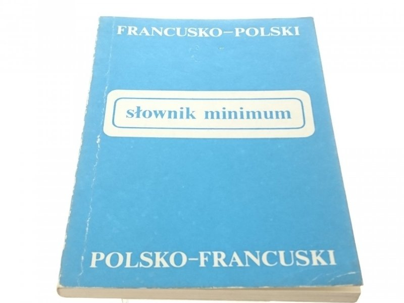 SŁOWNIK MINIMUM. FRA-POL, POL-FRA (1987)
