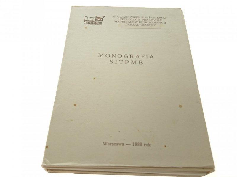MONOGRAFIA SITPMB. 6 ZESZYTÓW, 5 ROZDZIAŁÓW