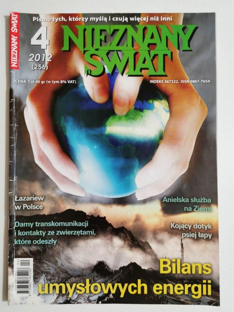 NIEZNANY ŚWIAT NR 4 2012 (256) BILANS UMYSŁOWYCH ENERGII