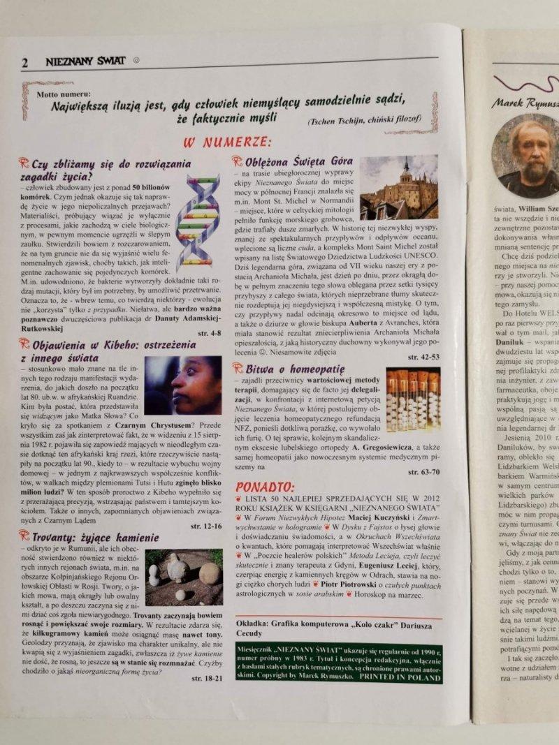 NIEZNANY ŚWIAT NR 3 2013 (267) CORAZ BLIŻEJ ROZWIĄZANIA ZAGADKI ŻYCIA