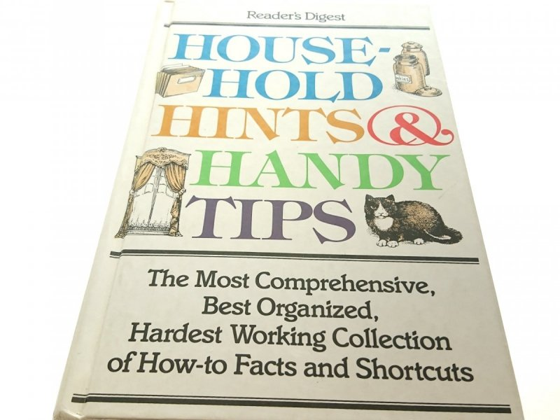 READER'S DIGEST. HOUSEHOLD HINTS AND HANDY TIPS