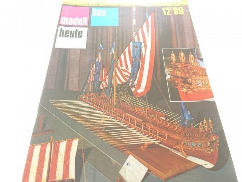 MODELL BAU HEUTE 12'89