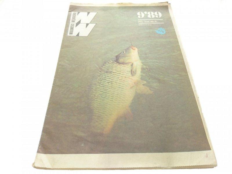 WIADOMOŚCI WĘDKARSKIE NR 9'89 (483)