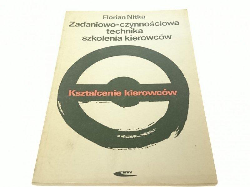 ZADANIOWO-CZYNNOŚCIOWA TECHNIKA SZKOLENIA KIEROWC.