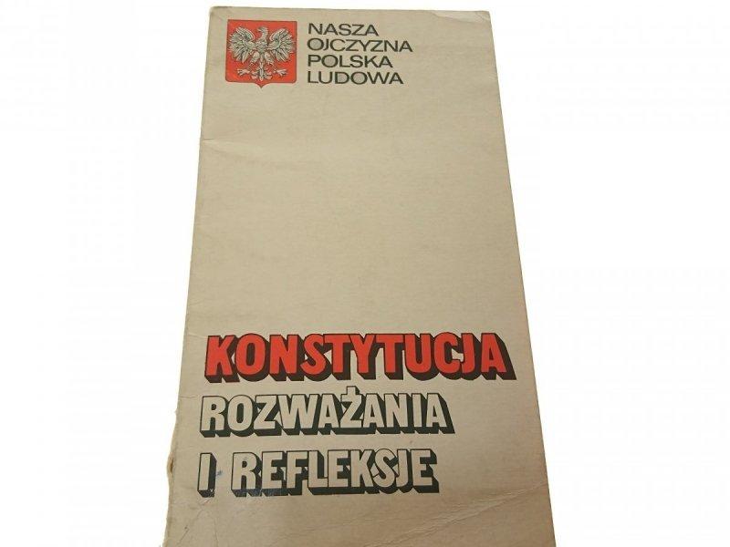 KONSTYTUCJA ROZWAŻANIA I REFLEKSJE Bednarski 1976