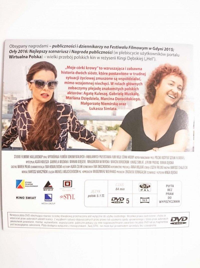 MOJE CÓRKI KROWY FILM DVD