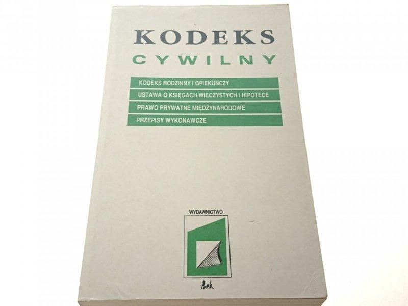 KODEKS CYWILNY - SYLWESTER WÓJCIK