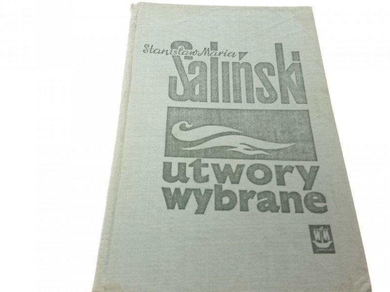 UTWORY WYBRANE T.II - Stanisław Maria Saliński