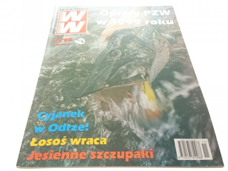WIADOMOŚCI WĘDKARSKIE 11/98 - NIE TYLKO TROĆ