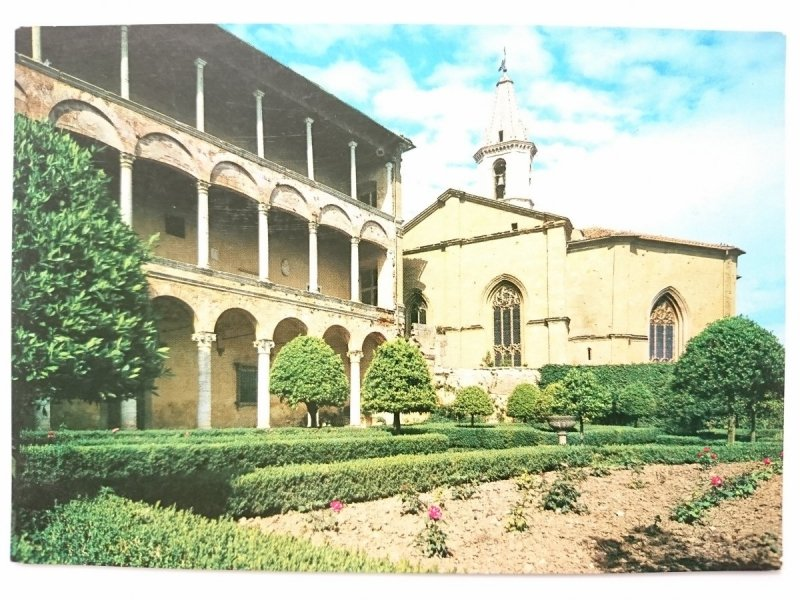 PENZIA. LODGE OF THE PAPAL PALACE AND APSE OF THE CATHEDRAL