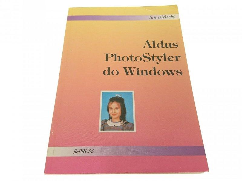 ALDUS PHOTOSTYLER DO WINDOWS - Jan Bielecki 1992
